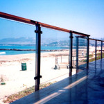 Glass Outdoor Deck Railing